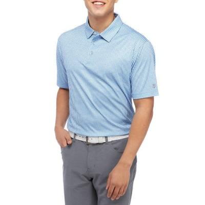 プロツアー シャツ トップス メンズ Short Sleeve Gingham Polo  -