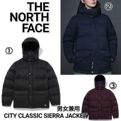 THE NORTH FACE ノースフェイス CITY CLASSIC SIERRA シティクラシックシエラ ダウンジャケット 紺 黒 ワイン NJ1DL54 メンズ レディース