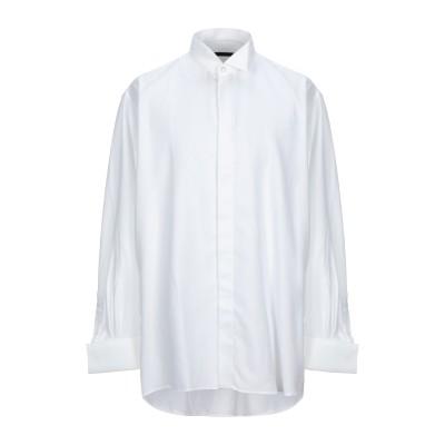 UNGARO シャツ ホワイト 46 コットン 100% シャツ