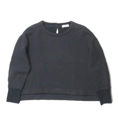 アトリエナルセ atelier naruse 日本製 cotton fleece lining pullover スウェットプルオーバー na-F07065 フリー ネイビー トレーナー トップス