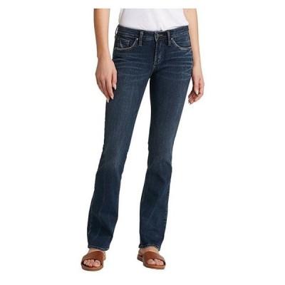 シルバー ジーンズ レディース デニムパンツ ボトムス Avery Slim Bootcut Jeans