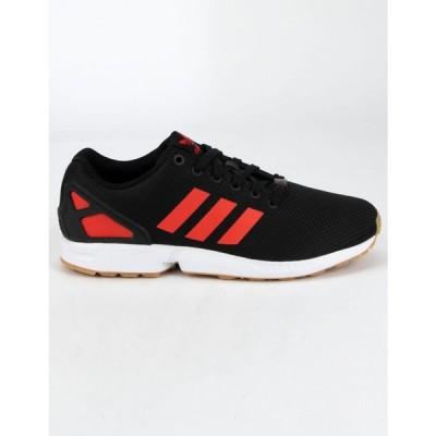 アディダス ADIDAS レディース スニーカー シューズ・靴 ZX Flux Black & Red Shoes BLACK/RED