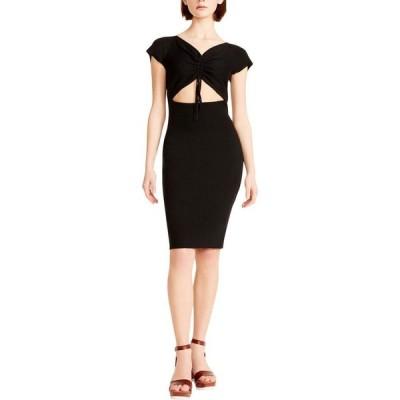 マッデン ガール Madden Girl レディース ボディコンドレス タイト ワンピース・ドレス Bodycon Sweaterdress Black