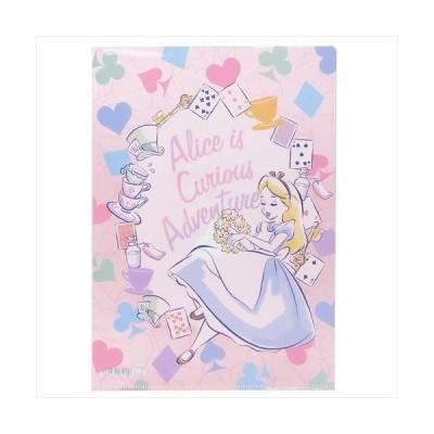 ふしぎの国のアリス ファイル A4シングルクリアファイル 2110270 ディズニー サンスター文具 事務用品 日本製 キャラクター グッズ