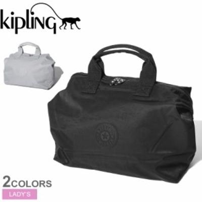 母の日 キプリング ボストンバッグ レディース カラ エム ブラック 黒 KIPLING KI5383 バッグ カバン ブランド シンプル 鞄 旅行 おしゃ
