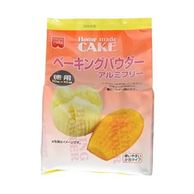 共立食品 徳用ベーキングパウダー 100g(10gx10)×6袋