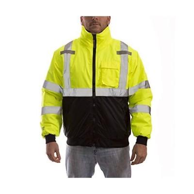 [新品]Tingley J26002.XL Job Sight High-Visibility Bomber Jacket, X-Large, Hi/Vis Yellow