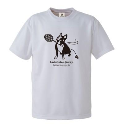 バドミントン Tシャツ バド / Badminton Junky