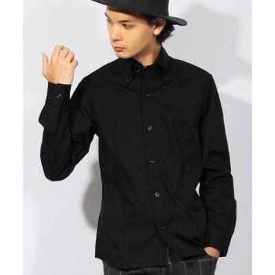 シャツ ブラウス 国産 ブロード ボタンダウン シャツ 日本製 高品質