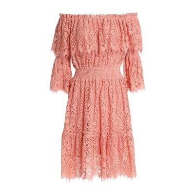 PERSEVERANCE ミニワンピース&ドレス ピンク 6 ナイロン 42% / コットン 31% / レーヨン 27% ミニワンピース&ドレス
