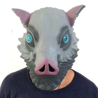 鬼滅の刃マスク ハロウィン 怖いマスク コスプレ ピエロ パーティーマスク仮装 お化け屋敷 パーティー いたずら