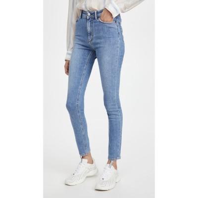 アクネ ストゥディオズ Acne Studios レディース ジーンズ・デニム ボトムス・パンツ Peg Soft Super Blue Jeans Blue