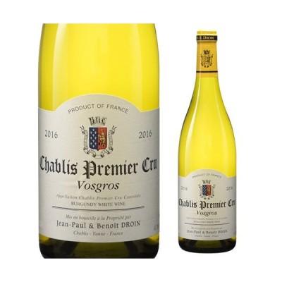 シャブリ プルミエ クリュ ヴォグロ 2016 ジャンポール エ ブノワ ドロワン 750ml フランス ブルゴーニュ 白ワイン 1級