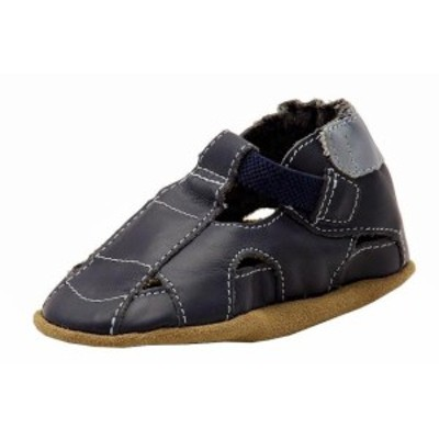 Robeez ロビーズ ベビー用品 シューズ Robeez Mini Shoez Infant Boys Fisherman Fashion Navy Sandals Shoes