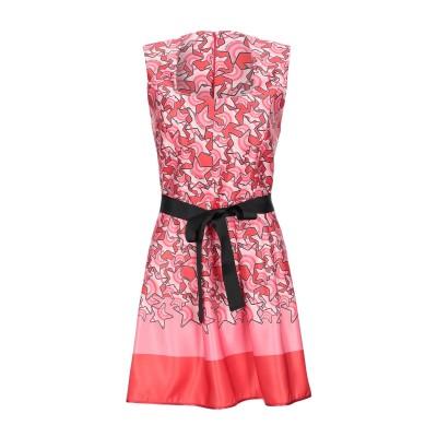 ANGELA MELE MILANO ミニワンピース&ドレス ピンク 40 ポリエステル 100% ミニワンピース&ドレス