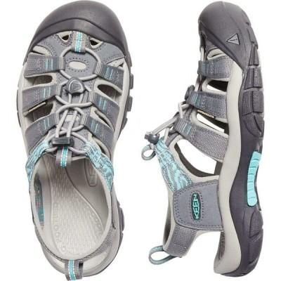 キーン Keen レディース サンダル・ミュール シューズ・靴 Newport H2 Sandals Steel Grey/Blue Turquoise