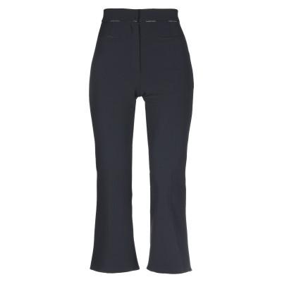 ELISABETTA FRANCHI パンツ ブラック 40 ポリエステル 96% / ポリウレタン 4% パンツ