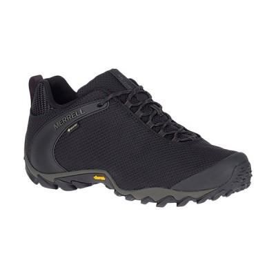 メレル(MERRELL) レディース トレッキングシューズ カメレオン 8 ストーム ゴアテックス R CHAMELEON 8 STORM GORE-TEX R ブラック W033606 ハイキング 靴