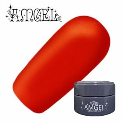 ジェルネイル セルフ カラージェル アンジェル AMGEL カラージェル AG1002 バリレッド 3g