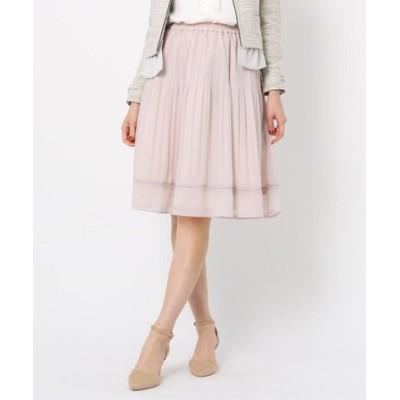 ◆【WEB限定サイズ(LL)あり】プリーツジョーゼットスカート