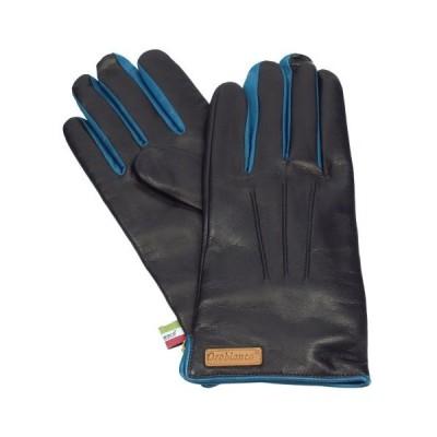 オロビアンコ 手袋 Orobianco ORM-1530 BLACK/BLUE 8.5サイズ