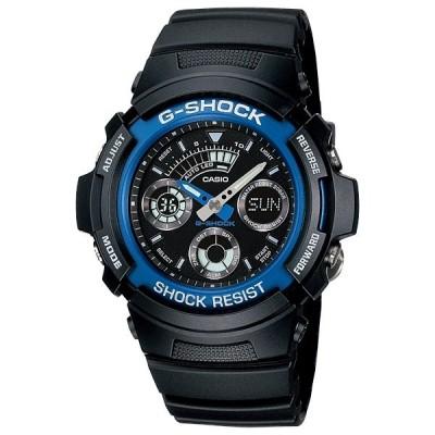 国内正規品 CASIO G-SHOCK カシオ Gショック アナログ デジタル コンビネーションモデル ベーシック メンズ腕時計 AW-591-2AJF