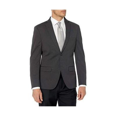 Van Heusen Men's Short Slim Fit Knit Blazer, Charcoal, 38S