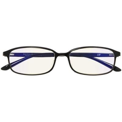 スクエア型 PCメガネ(度なし)|Zoff PC ULTRA TYPE(ブルーライトカット率約50%)|ゾフ PC 透明レンズ パソコン用メガネ PC