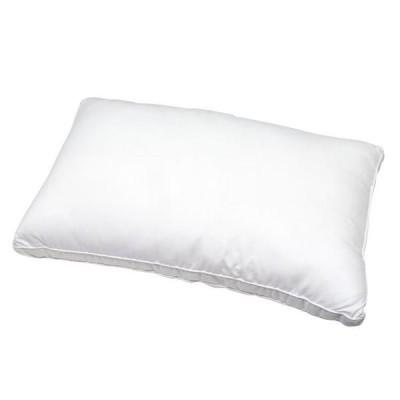 【SALE】ホテルスタイルピロー ワイドカバー付き W75×D45×H4cm ホワイト