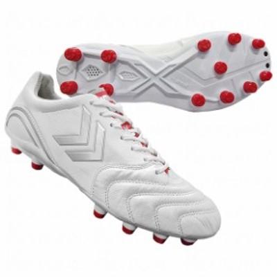 ヴォラート 2 ホワイト×レッド 【hummel|ヒュンメル】サッカースパイクhas1240r-1020