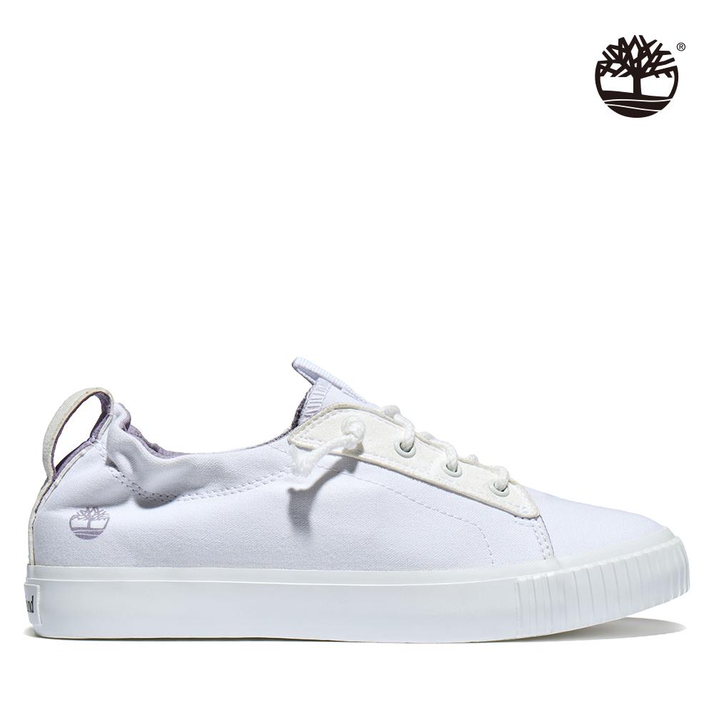 Timberland 女款白色Newport Bay帆布牛津鞋|A2GZXL77