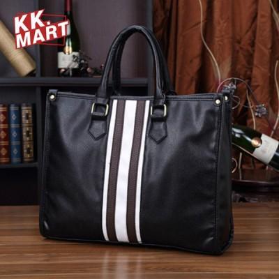 pu ハンドバッグ トートバッグ メンズ  2way 手提げバッグ ショルダーバッグ  手提げ 斜めがけ ビジネスバッグ 通勤通学 鞄