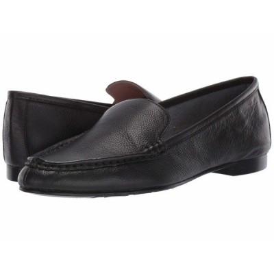 タリンローズ スリッポン・ローファー シューズ レディース Diana by Taryn Rose Collection Black Leather