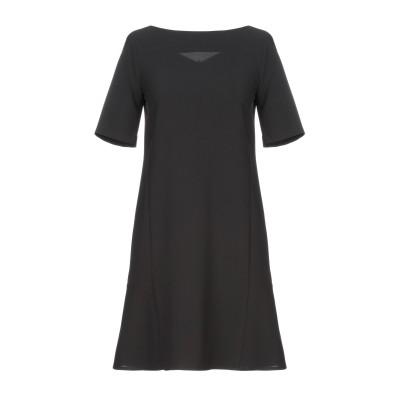 カオス KAOS ミニワンピース&ドレス ブラック 46 ポリエステル 91% / ポリウレタン 9% ミニワンピース&ドレス