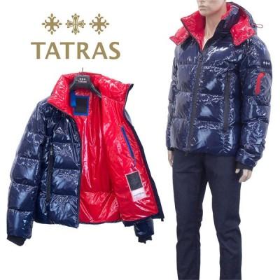 タトラス TATRAS カラーラミネート アンデール ダウンジャケット MTLA20A4104-D ANDER-40 NAVY