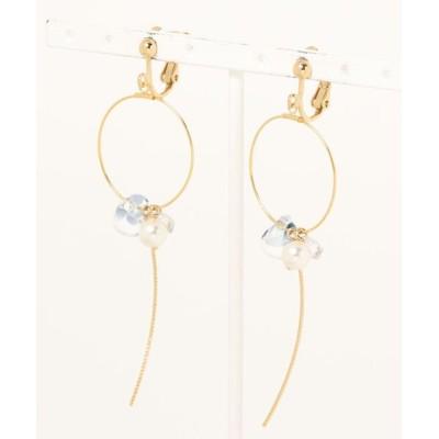 イヤリング 【Blue-Star】Kakera earring