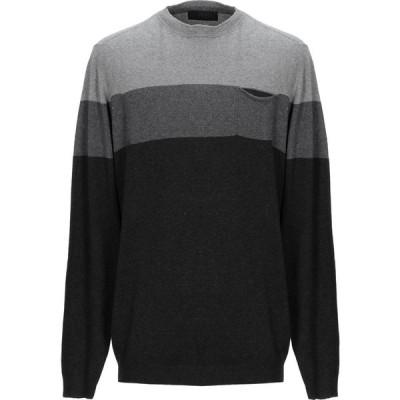 リウジョー LIU JO MAN メンズ ニット・セーター トップス sweater Steel grey