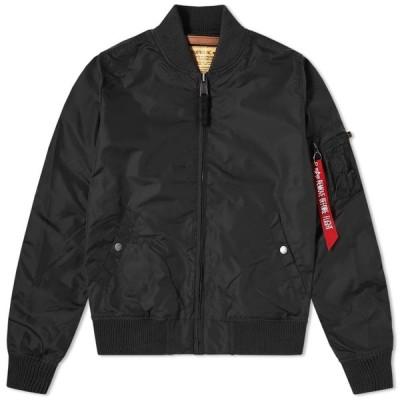 アルファ インダストリーズ Alpha Industries メンズ ブルゾン アウター MA-1 TT Jacket Black