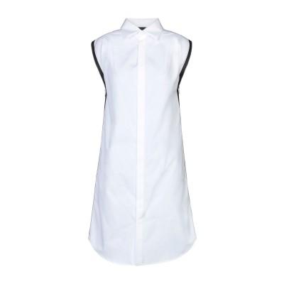 ディースクエアード DSQUARED2 ミニワンピース&ドレス ホワイト 38 コットン 100% ミニワンピース&ドレス