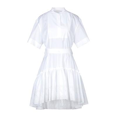 クロエ CHLOÉ ミニワンピース&ドレス ホワイト 34 コットン 100% / ポリエステル ミニワンピース&ドレス