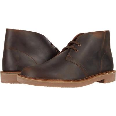 クラークス Clarks メンズ シューズ・靴 Bushacre 3 Dark Brown Leather