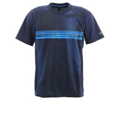パフォーマンスギア(PG)テニス Tシャツ メンズ 半袖 ドライプラス プロ 732PG0TF8734 NVY