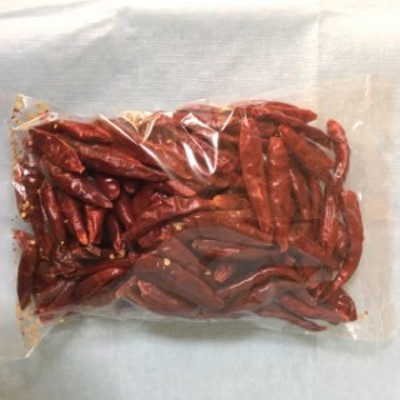 赤唐辛子 干紅辣椒 約90g  中国産 赤い鷹の爪 赤とうがらし中華調味料