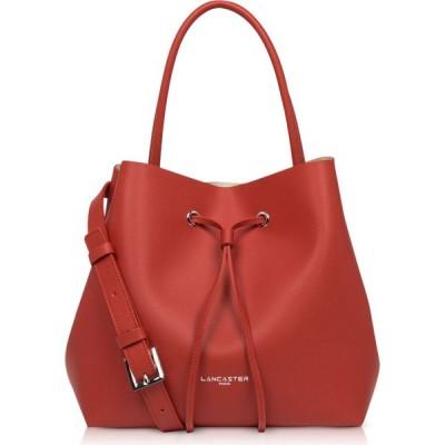ランカスター Lancaster Paris レディース バッグ バケットバッグ Pur & Element City Bucket Bag Red/Gold