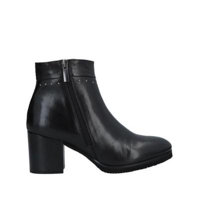 CALPIERRE ショートブーツ ファッション  レディースファッション  レディースシューズ  ブーツ  その他ブーツ ブラック