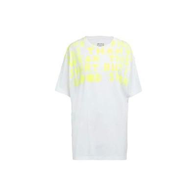 [メゾンマルジェラ レディース]Maison Margiela Lady's 19S/S AIDS チャリティ-プリント ジャージー Tシャツ COLOR : 988 WHITE