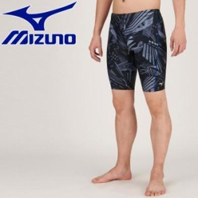 【メール便送料無料】ミズノ 水泳 アクアフィットネス用ハーフスパッツ メンズ N2JB061009