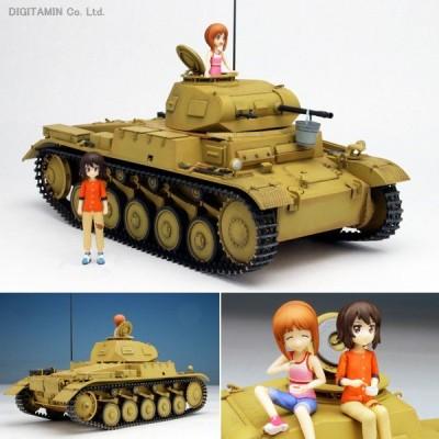 1/35 あの夏のII号戦車F型です! 〜みほとまほの思い出〜 プラモデル ガールズ&パンツァー 劇場版 プラッツ GP-34(ZS25677)