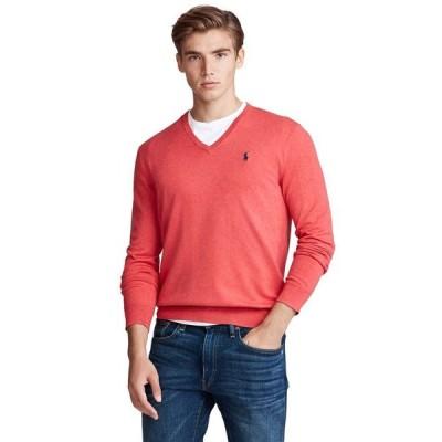 ラルフローレン メンズ ニット・セーター アウター Men's Big & Tall Cotton V-Neck Sweater
