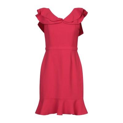 レイチェル・ゾー RACHEL ZOE ミニワンピース&ドレス レッド 2 ポリエステル 51% / アセテート 49% ミニワンピース&ドレス